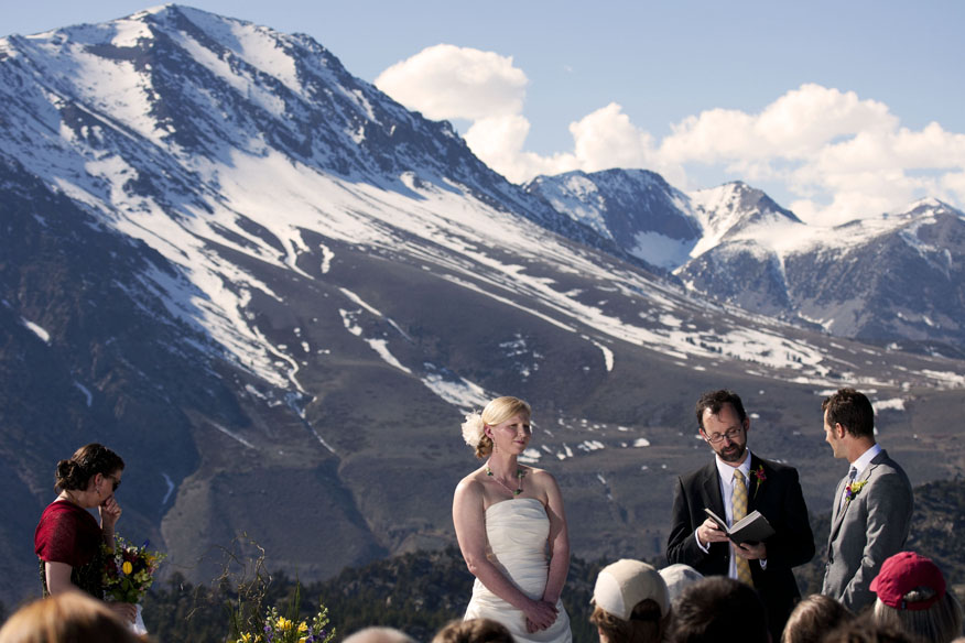 Rachel And Anders Tying The Knot Amongst Gorgeous Views At June Mountain California